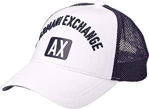 A|X Armani Exchange Men's Large Logo Hat