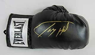 Larry Holmes Signed Auto Autograph Everlast Black Boxing Glove JSA Witness