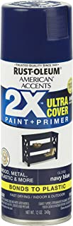 Rust-Oleum 327898 American Accents Ultra Cover 2X Gloss, Each, Navy Blue