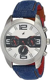 Blue Dial Blue Denim Strap Watch