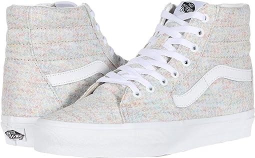(Rainbow Jersey) Multi/True White