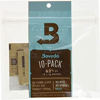 Boveda for Herbal Storage   62% RH Humidity Control Pack   Size Small for Use with Up to..