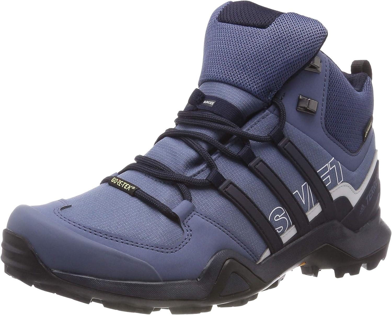 Adidas Damen Terrex Swift R2 Mid GTX Trekking- & Wanderstiefel, blau