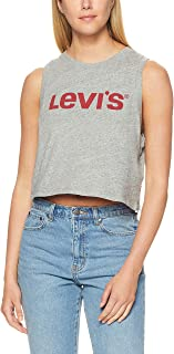 Levi's Women's Graphic Crop Tank Crop Tank New Logo