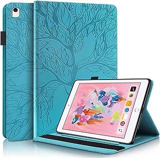 """TTNAO Hoesje Compatibel met iPad 10.2"""" (8e/7e Gen 2020/2019) Tablet Hoes Schokbestendig met Elastische Band Styluslus Kaar..."""
