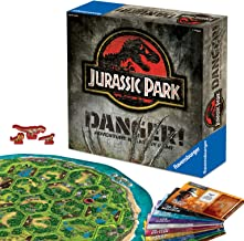 Ravensburger Jurassic Park Danger! Adventure Strategy Game for Kids & Adults Age 10 & Up!