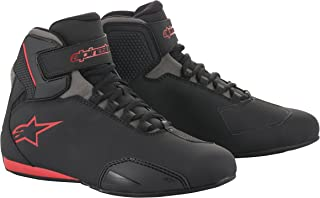 Alpinestars Men's 251551813110 Shoe (Black/Grey/Red, Size 10)