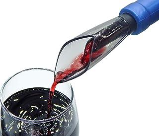 プレミアムワインエアレーター注ぎ口 - 要求の厳しい愛好家のためのダブルエアレーティングワイン秋 - ワインボトルから最高のアロマとフレーバーを手に入れましょう