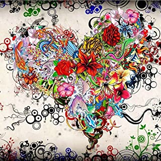 Blxecky 5D DIY Diamond Painting by Number Kits Crafts & Sewing Cross Stitch,Wall Stickers for Living Room decorationbutter...