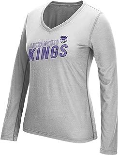 NBA Women's Stacked Long Sleeve Ultimate Tee