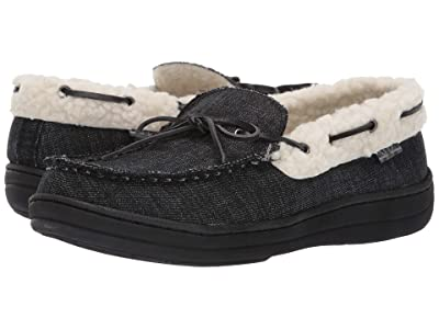 Ben Sherman Jeffery Slipper (Black Denim) Men