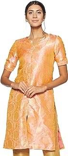 Amazon Brand - Myx Women's Straight Salwar Suit Set