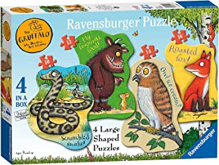 Gruffalo My First Puzzle 10 12 14 15 Shaped Puzzles Ages 3+