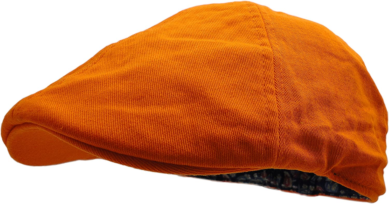 Wonderful Finally resale start Fashion Men's Cheap Cotton Colored Newsboy Cap Vibrant