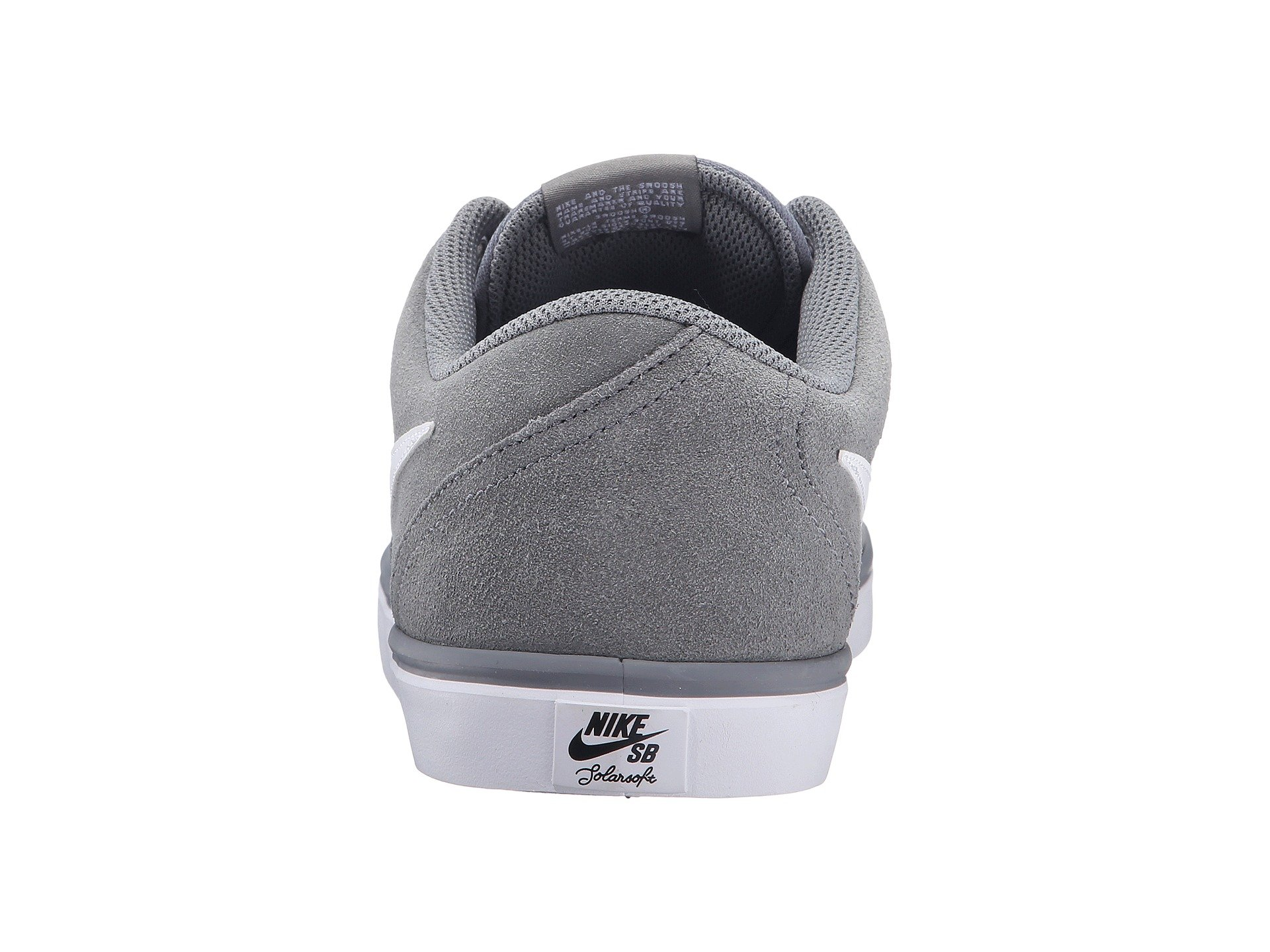 Grey Solar Cool Check white Suede Sb Nike PgBxwq867