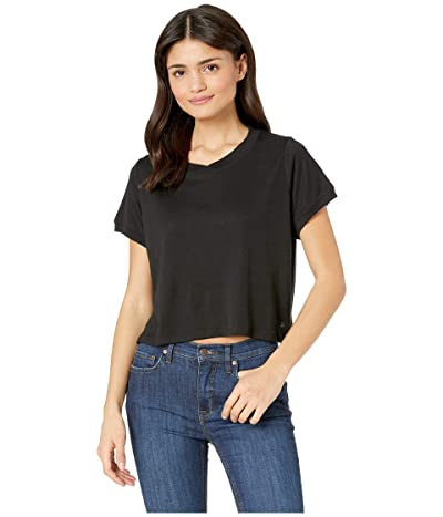 Splendid Studio Core Boxy Tee (Black) Women