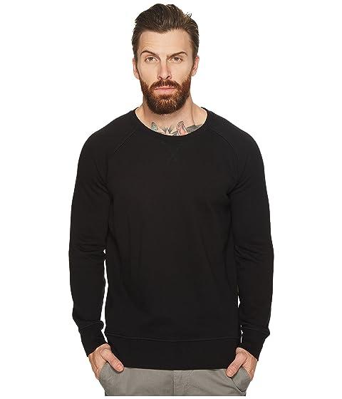 RICHER POORER Lounge Crewneck Sweatshirt in Black
