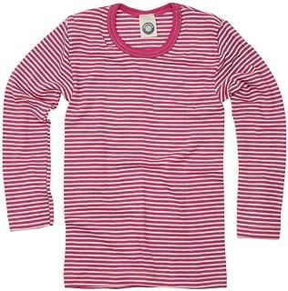 75e26ea04a588 Cosilana enfant pULL-chemise à manches longues en laine vierge et wollbody  de soie