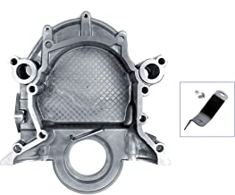eClassics 65-79 Mustang Timing Chain Cover 289/302/351 w/Dipstick Hole & Bolt-on Pointer
