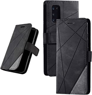 Samsung Galaxy S20 PU Leather Kickstand Wallet Phone Case, Flip Magnetic Cover with Card Slot and Removable Card Holder (5...