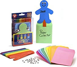 Hygloss Products Job Board/Attendance Chart Kit - Classroom Job Chart - Cute People Shapes - Bulletin Board Pockets for Assigning Classroom Tasks - Classroom Supplies for Teachers - Bright Colors - Pack of 25