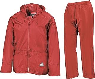 Mens Heavyweight Waterproof Rain Suit (Jacket & Trouser Suit)