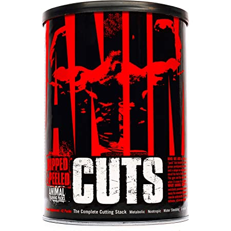Animal Cuts - Weight Loss Fat Burner with Appetite Suppressant - Thermogenic and Metabolism Support Supplement - Diet and Energy Pills - Complete and Convenient All-in-one Packs - 42 Packs