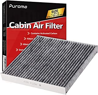 Puroma Cabin Air Filter with Activated Carbon, Replacement for CP285, CF10285, Toyota, Lexus, Scion, Subaru
