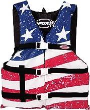 SPORTSSTUFF Stars & Stripes Life Jacket Boating PFD