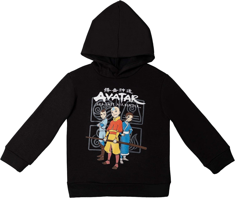 Avatar: The Last Airbender Aang Katara Sokka Fleece Pullover Hoodie
