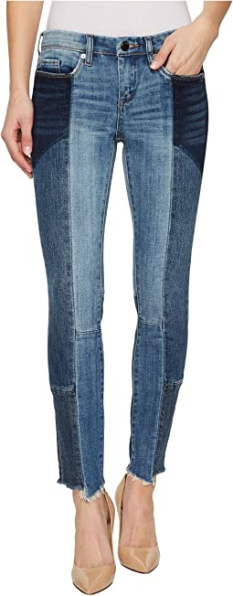 Blank NYC - Cropped Patchwork Skinny Classique in Classic Mixup