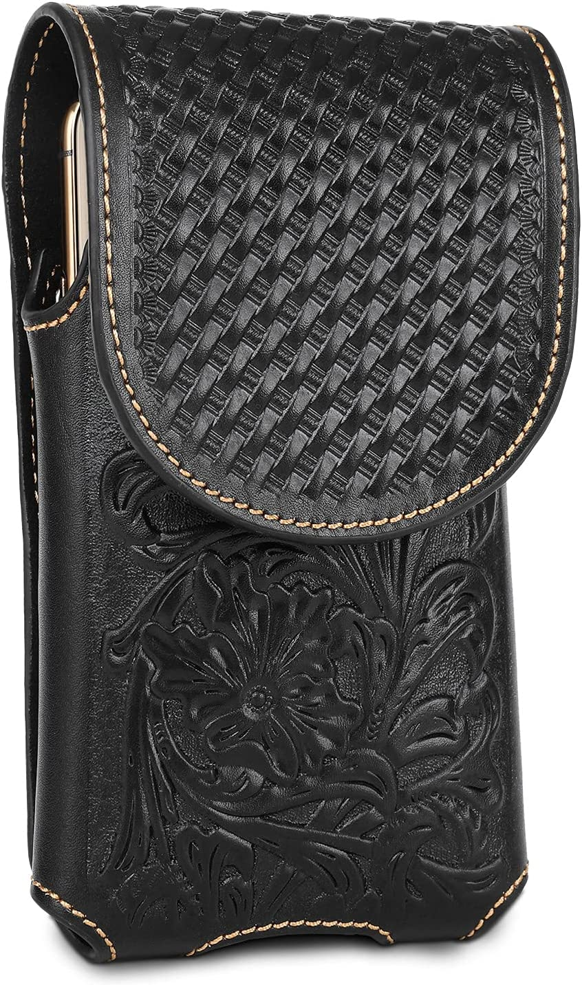 Montana West Real Leather 2021 model Cell Phone Car Holster for Great Belt Colorado Springs Mall