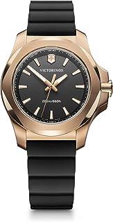 Victorinox Swiss Army Womens Quartz Watch, Analog Display and Rubber Strap - 241808