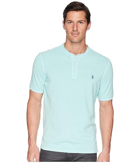 Polo Ralph Lauren Featherweight Mesh Short Sleeve Knit Henley at ... 62f104f04268