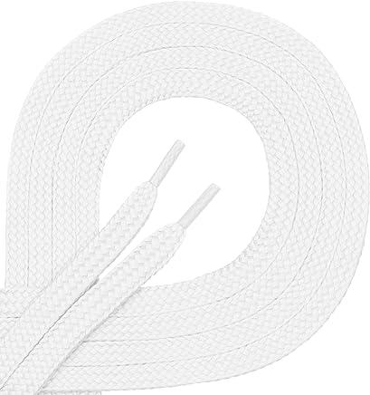 Di Ficchiano Qualitäts-Schnürsenkel aus Polyester - reißfest - flach - ca. 7,0 mm breit, 45 Farben, 60-200 cm Länge