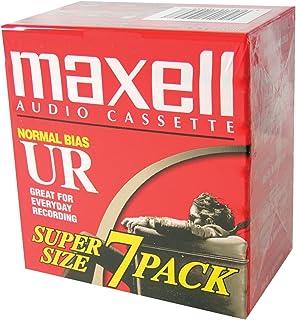 Maxell UR-90 Blank Audio Cassette Tape - 21 Pack (108575)