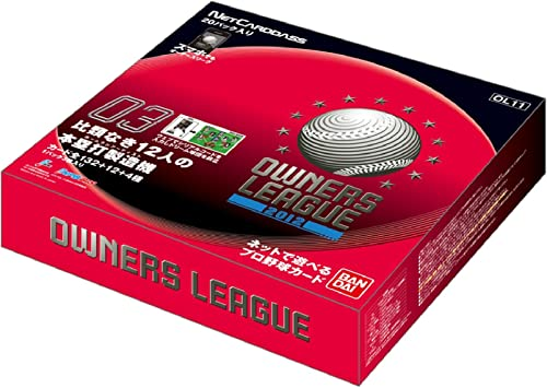 [Ol11] 2012 03 Professional Baseball Owners League Owners Draft Booster Box (japan import)