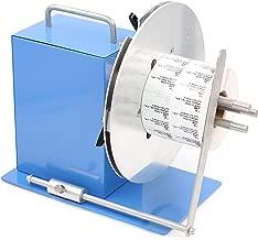U.S. Solid Automatic Label Rewinder Machine, Adjustable Core Holder 1