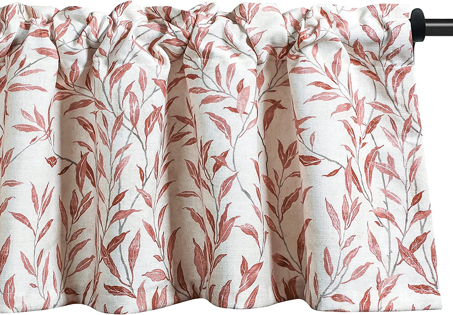 VOGOL Kitchen Valances Meticulous Painting Willow Sales Time sale results No. 1 Style Leaves P