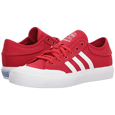 adidas Skateboarding Matchcourt (Little Kid/Big Kid) (Scarlet/Footwear White/Gum 4) Men