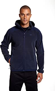Champion Men's Hooded Textured Fleece Jacket