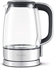 Breville USA BKE595XL The Crystal Clear Electric Kettle, 2.3, glass
