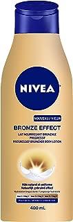 Nivea Efecto Bronce - Leche nutritiva con efecto de bronceado progresivo para pieles mates, 400ml