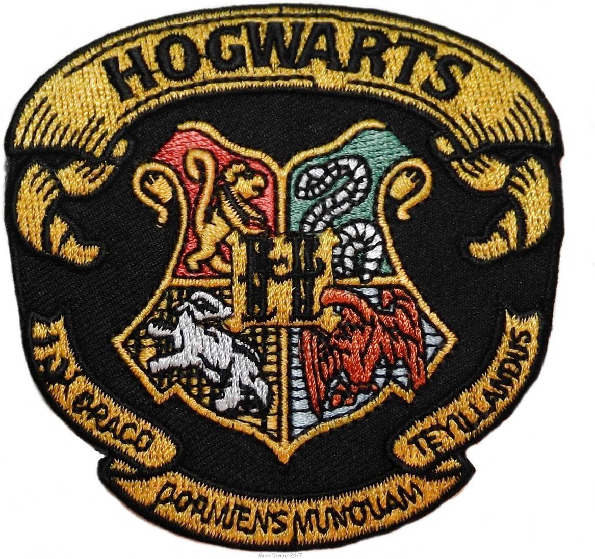 BTY Harry Potter licensed fabric hogwarts house crests