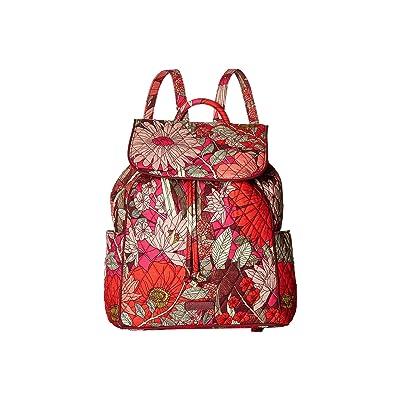 Vera Bradley Drawstring Backpack (Bohemian Blooms) Backpack Bags