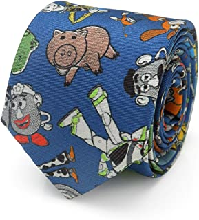 Toy Story 4 Characters Blue Big Boy's Tie