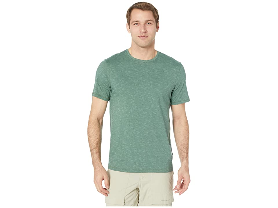 Toad&Co Tempo Short Sleeve Crew (Duck Green) Men