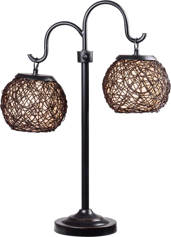 Kenroy Home Sale SALE% OFF 32245BRZ Memphis Mall Castillo Table Rubbed Oil Lamps Medium Br