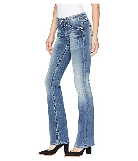 Miss Me Horseshoe Mid-Rise Bootcut Jeans in Medium Blue Medium Blue Many Kinds Of Cheap Online LwR57jiKO
