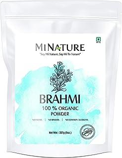 Sponsored Ad - USDA Organic Brahmi Powder (Bacopa Monnieri) - 227 g / 8 OZ / 1/2 lb | Enhances Learning Capacity | Promote...